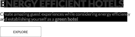 Energy Efficient Green Hotels in Dubai